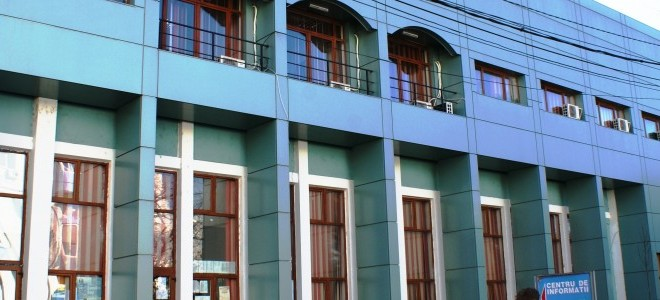 Primăria Alexandria, primăria partidului