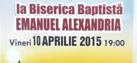 """Corul reunit """"Quo Vadis"""", în concert pascal la Alexandria"""