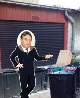 Când te numești Tunaru, arunci gunoiul în stradă și îți faci garaj în locul ghenei