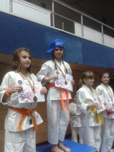 Zaharia Theodora - medalie de aur la Festivalul Romanesc  de Judo 2015