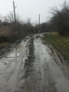 unul dintre drumurile comunale