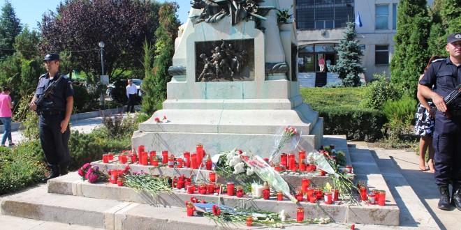 Numele a 300 de eroi români au fost amintite, astăzi, la Alexandria
