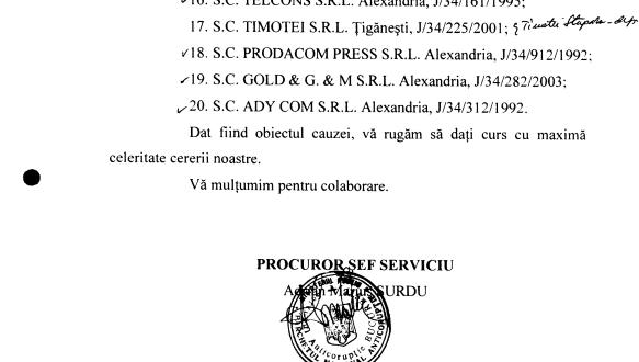 DNA cerceta camarila PSD Teleorman încă din 2005. De ce s-a oprit?
