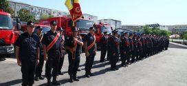 Ziua Pompierilor din România, sărbătorită de pompierii militari teleormăneni