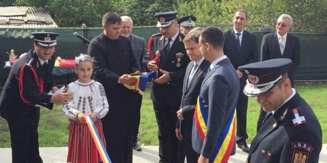 Cea mai modernă subunitate de pompieri din Teleorman a fost inaugurată la Drăgănești Vlașca