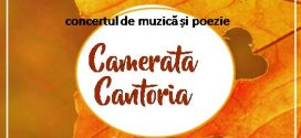 Camerata Cantoria revine! Nicolae Doboș reunește poezia cu muzica, la Alexandria