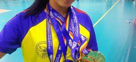 Triumf maxim la fotbal-tenis! Florina Chiar vine acasă cu cinci medalii de aur