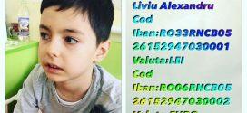 Concert caritabil pentru Alexandru Liviu Stoian, un alt băiețel grav bolnav!