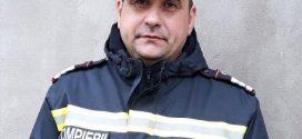 Plt. adj. Stanciu Constantin, din cadrul Detașamentului de Pompieri Alexandria, salvator și în timpul liber