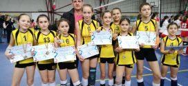 Echipa de minivolei a CSS Alexandria, în primele opt echipe din țară, la turneul final național