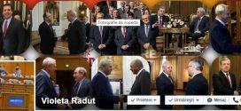 Pe pagina de Facebook a deputatului Violeta Răduț dai de… Dragnea