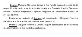 Conducere nouă la Finanțele Publice Teleorman… din Giurgiu
