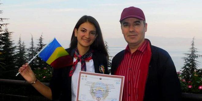 Daria Teodora Burtea, premiul III la Olimpiada Internațională de Limba Franceză