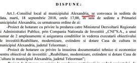Casa de Cultură din Alexandria se trimite iar la minister?!