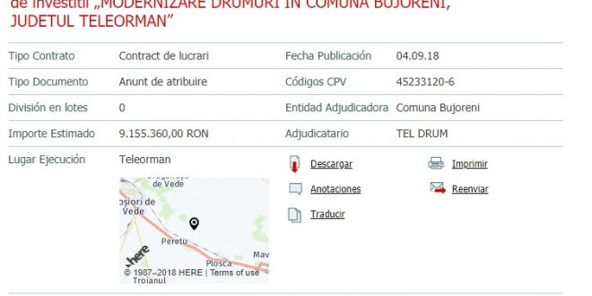 EXCLUSIV! Deși e în insolvență, S.C. Teldrum SA mai bifează 9 milioane de lei în Teleorman…