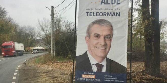 Tăriceanu nu stă la rând nici la campanie electorală…