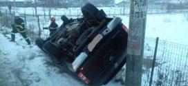 Accident rutier la ieșire din Roșiorii de Vede