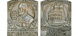"""Secția Numismatică Alexandria a prezentat la Curtea de Argeș placheta """"100 de ani de la trecerea în eternitate a Regelui Carol I al României"""""""