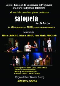 Afis teatru Salopeta