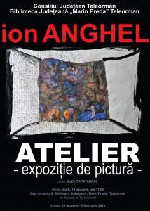 afiș Ion ANGHEL