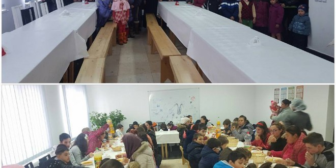 Părintele Florin Danu strânge alimente pentru a le oferi enoriașilor de la Parohia Lada o masă caldă zilnic
