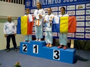 Iulia Nedelcuta Apope locul 2 Olympus Judo Cup