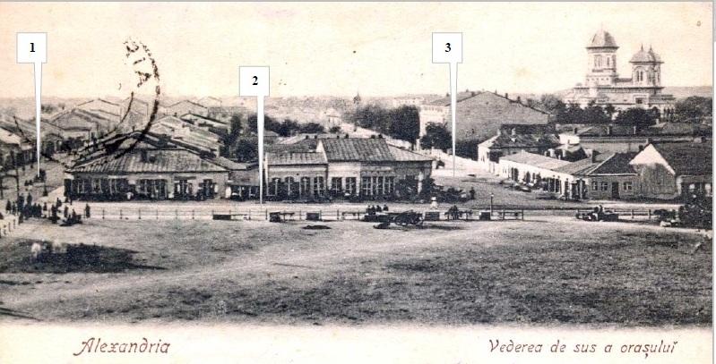 Carte poştală din Alexandria, datată 21 martie 1903 colecţia Corneliu Beda