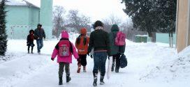 Cursurile școlare s-au suspendat până la sfârșitul săptămânii în Teleorman