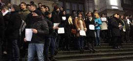 Judecătorii din Alexandria s-au alăturat protestului magistraților