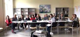 Echipa Colegiului Național Pedagogic  ''Mircea Scarlat'', în Letonia