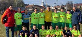 Universitatea Alexandria termină turul Ligii I de fotbal feminin pe locul II