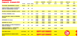 Program Happy Cinema Alexandria 04-10 ianuarie