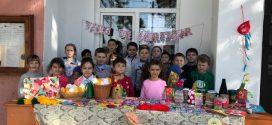 La Școala Gimnazială Nanov… Mărțișorul este un simbol al primăverii